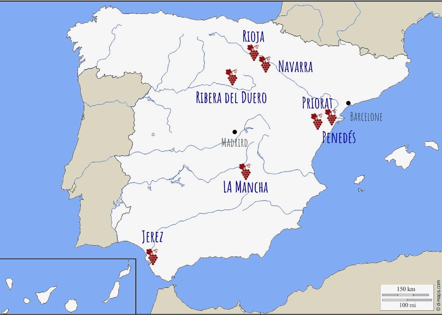 Sejour Oenologique En Espagne