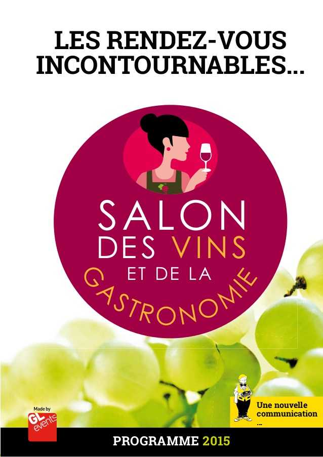 Salon du vin et de la gastronomie de brest for Salon viticole